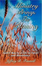 Cover of: Ministry Brings the Blessing