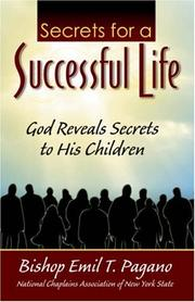 Cover of: The Secrets for a Successful Life
