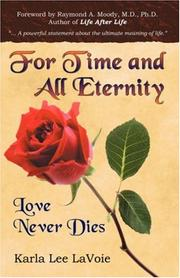 Cover of: For Time and All Eternity