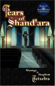 Cover of: Tears of Shand'ara
