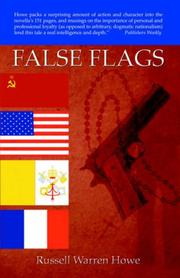 Cover of: False Flags | Russell, Warren Howe