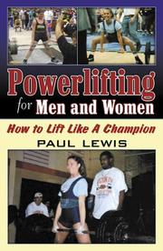 Cover of: Powerlifting for Men and Women