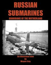 Cover of: Russian Submarines