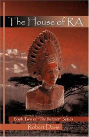 Cover of: The House of RA | Robert, Davis