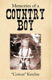 Cover of: Memories of a Country Boy