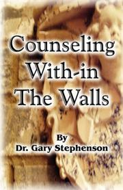Cover of: Counseling With-in the Walls