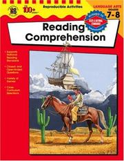 Reading comprehension / Grades 7-8