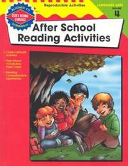Cover of: After School Reading Activities, Grade 4 (The 100+ Series) | School Specialty Publishing
