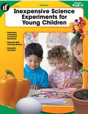 Cover of: Inexpensive Science Experiments for Young Children, Grades PreK-K