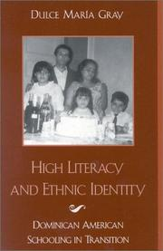 Cover of: High Literacy and Ethnic Identity | Dulce Mar