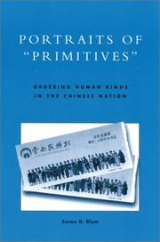 "Cover of: Portraits of ""Primitives"""