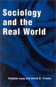 Cover of: Sociology and the Real World