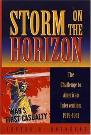 Cover of: Storm on the Horizon