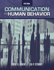 Cover of: Communication and human behavior