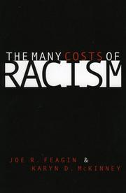 Cover of: The many costs of racism