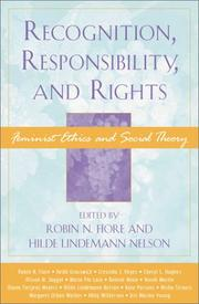 Cover of: Recognition, Responsibility, and Rights
