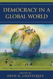 Cover of: Democracy in a Global World