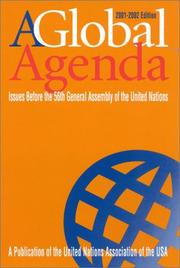 Cover of: A Global Agenda | Diana Ayton-Shenker