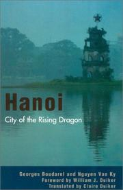 Cover of: Hanoi | Georges Boudarel