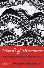 Cover of: Islands of Discontent