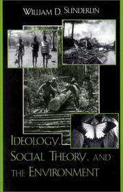 Cover of: Ideology, Social Theory, and the Environment