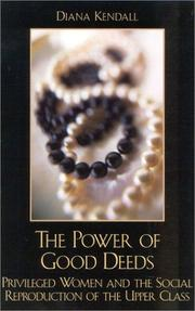 Cover of: The Power of Good Deeds