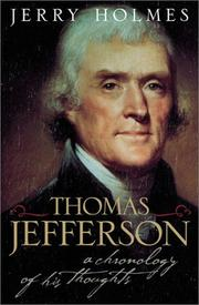 Cover of: Thomas Jefferson  | Jerry Holmes