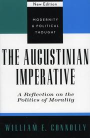 Cover of: The Augustinian Imperative | William E. Connolly
