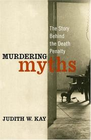 Cover of: Murdering Myths