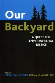 Cover of: Our Backyard