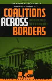 Cover of: Coalitions across Borders