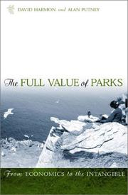 Cover of: The Full Value of Parks