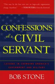 Cover of: Confessions of a Civil Servant