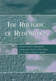 Cover of: The Rhetoric of Redemption