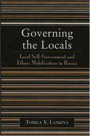 Cover of: Governing the Locals