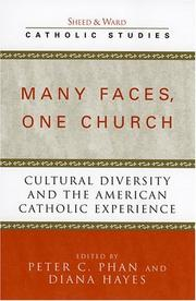 Cover of: Many faces, one church |