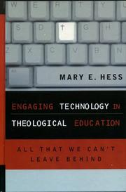 Cover of: Engaging Technology in Theological Education