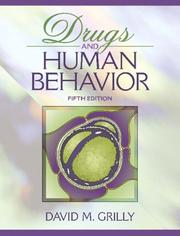 Cover of: Drugs and human behavior