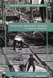 Cover of: Evolving Property Rights In Marine Fisheries