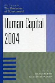 Cover of: Human Capital 2004