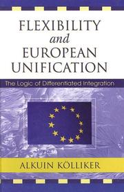 Cover of: Flexibility and European Unification