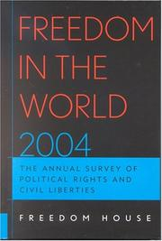 Cover of: Freedom in the World 2004