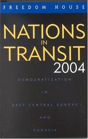 Cover of: Nations in Transit 2004