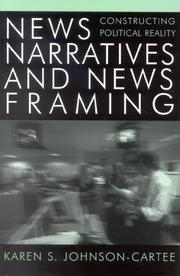 Cover of: News Narratives and News Framing