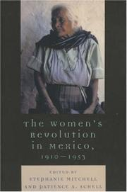 Cover of: The Women's Revolution in Mexico, 1910-1953 (Latin American Silhouettes)