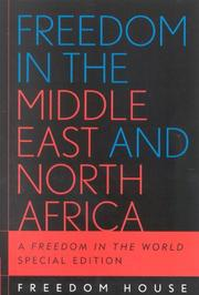 Cover of: Freedom in the Middle East and North Africa