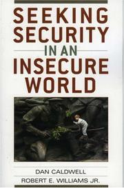 Cover of: Seeking security in an insecure world