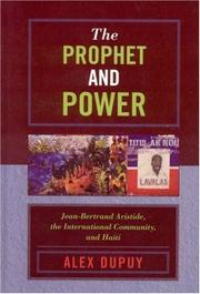 Cover of: The Prophet and Power