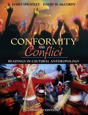 Cover of: Conformity and Conflict | James & Spradley