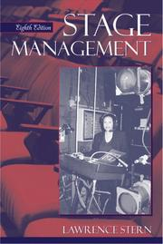 Stage management by Lawrence Stern